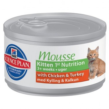 HILLS SCIENCE PLAN FELINE KITTEN 1ST NUTRITION MOUSSE
