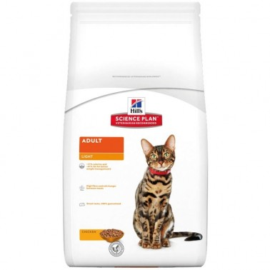 HILLS SCIENCE PLAN FELINE ADULT LIGHT