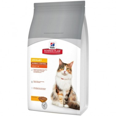 HILLS SCIENCE PLAN FELINE URINARY HAIRBALL CONTROL POLLO