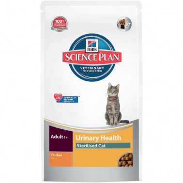 HILLS SCIENCE PLAN FELINE URINARY STERILISED CAT POLLO