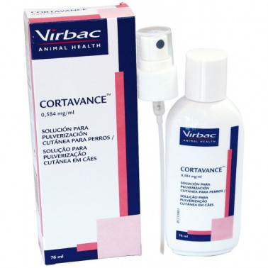 CORTAVANCE 76 ml  Dermatitis y Prurito en Perros