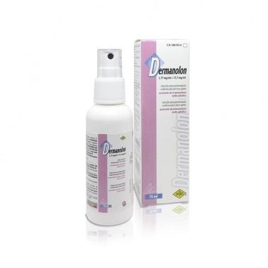 DERMANOLON 75 ml Aerosol para Dermatitis Seborreica en Perros y Gatos