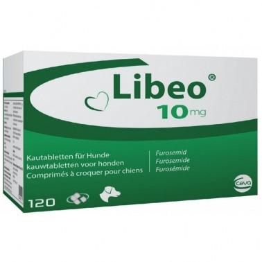 LIBEO 10 mg Diurético 120 Comprimidos para perros