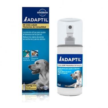 ADAPTIL SPRAY 60 ml Alivio rápido del estres y ansiedad caninos Comportamiento canino