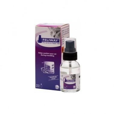 FELIWAY TRAVEL Spray 20 ml Feromona Facial antiestres para gatos para viajes