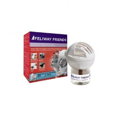 FELIWAY FRIENDS Difusor + Recambio 48 ml 1 Mes Feromona antiestres para gatos