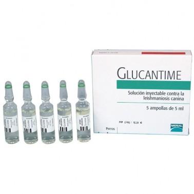 GLUCANTIME AMPOLLAS 5X5 ML BOEHRINGER
