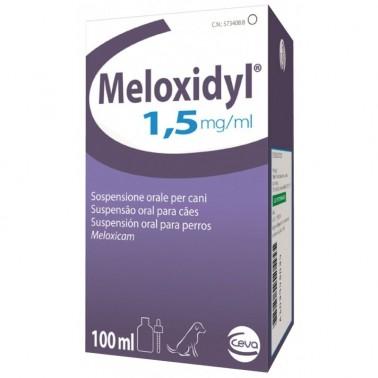 MELOXIDYL PERRO SUSPENSION ORAL 1,5 mg/ml Antiinflamatorio para Perros