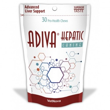 ADIVA HEPATIC CANINE 30 CHEWS VETNOVA