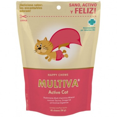 MULTIVA ACTIVE CAT 45 CHEWS VETNOVA