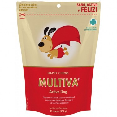 MULTIVA ACTIVE DOG 45 CHEWS VETNOVA