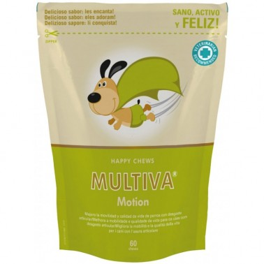 MULTIVA MOTION 60 CHEWS VETNOVA