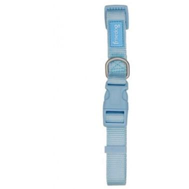 Freedog Collar nylon para su mascota de color Azul cielo