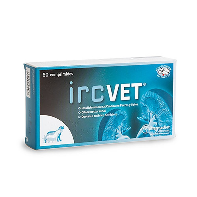 Complemento Insuficiencia Renal Crónica IRC VET 60 Comp