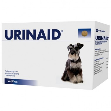 Urinaid 60 comprimidos Infecciones urinarias en perros