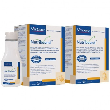 NUTRIBOUND VIRBAC PARA PERROS 3 x 150 ml