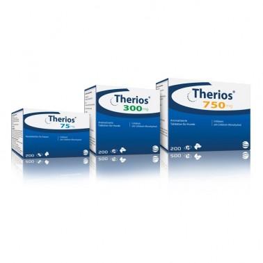 THERIOS CEVA Cefalexina en comprimidos divisibles para perros y gatos.10 comprimidos