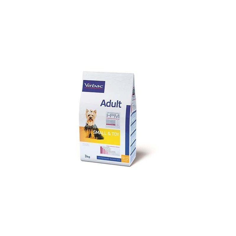VETERINARY HPM DOG SMALL & TOY ADULT 7KG