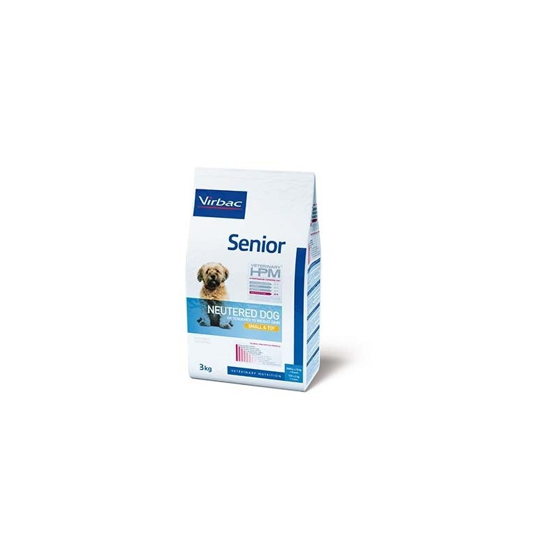 VETERINARY HPM DOG SENIOR NEUTERED SMALL TOY 1.5kg