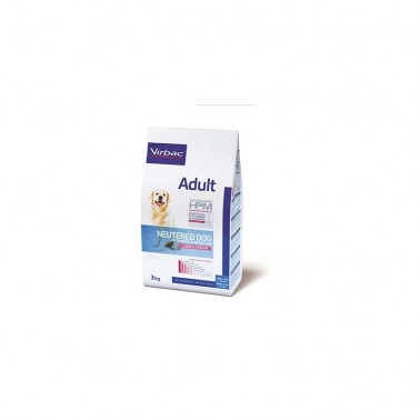 VETERINARY HPM DOG ADULT NEUTERED LARGE & MEDIUM 3KG