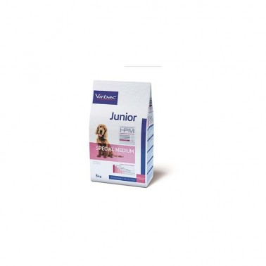 VETERINARY HPM DOG JUNIOR MEDIUM 3kg