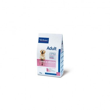VETERINARY HPM DOG ADULT LARGE & MEDIUM 16kg