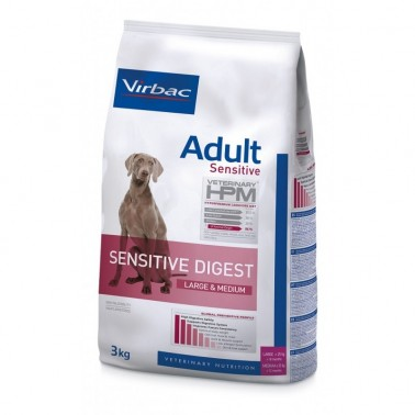 HPM DOG ADULT SENSITIVE DIGEST LARGE & MEDIUM 3kg