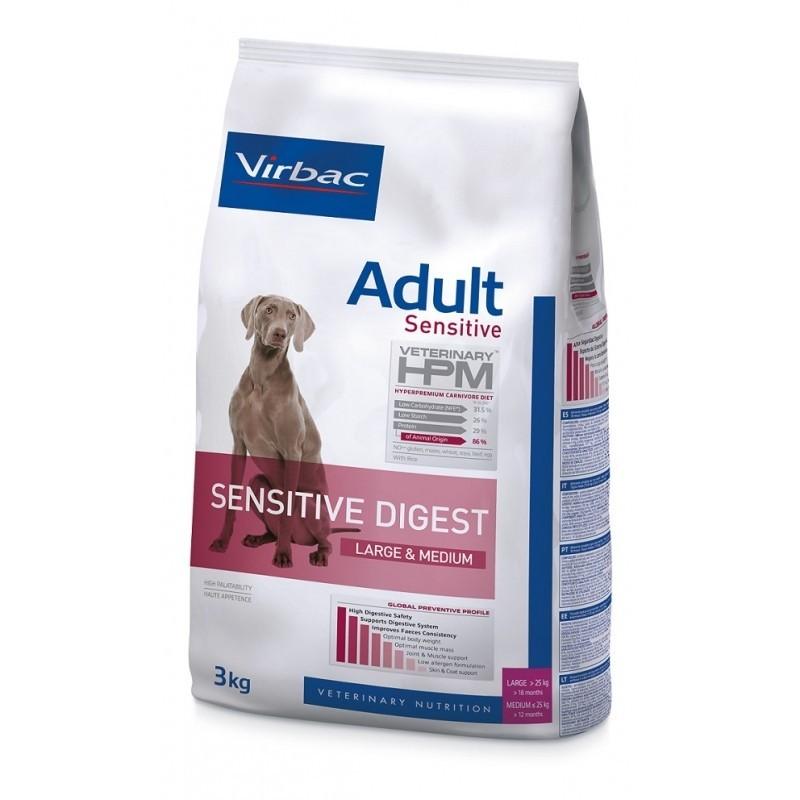 HPM DOG ADULT SENSITIVE DIGEST LARGE & MEDIUM 3kg