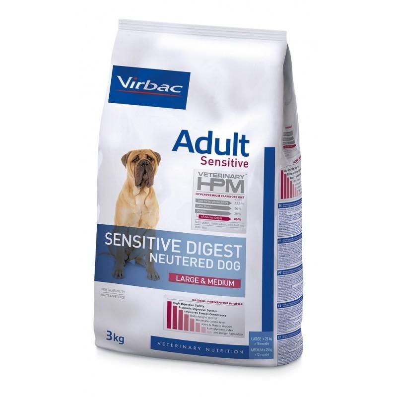 HPM DOG NEUTERED SENSI DIGEST LARGE & MEDIUM 3kg