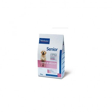 VETERINARY HPM DOG SENIOR LARGE & MEDIUM 3kg