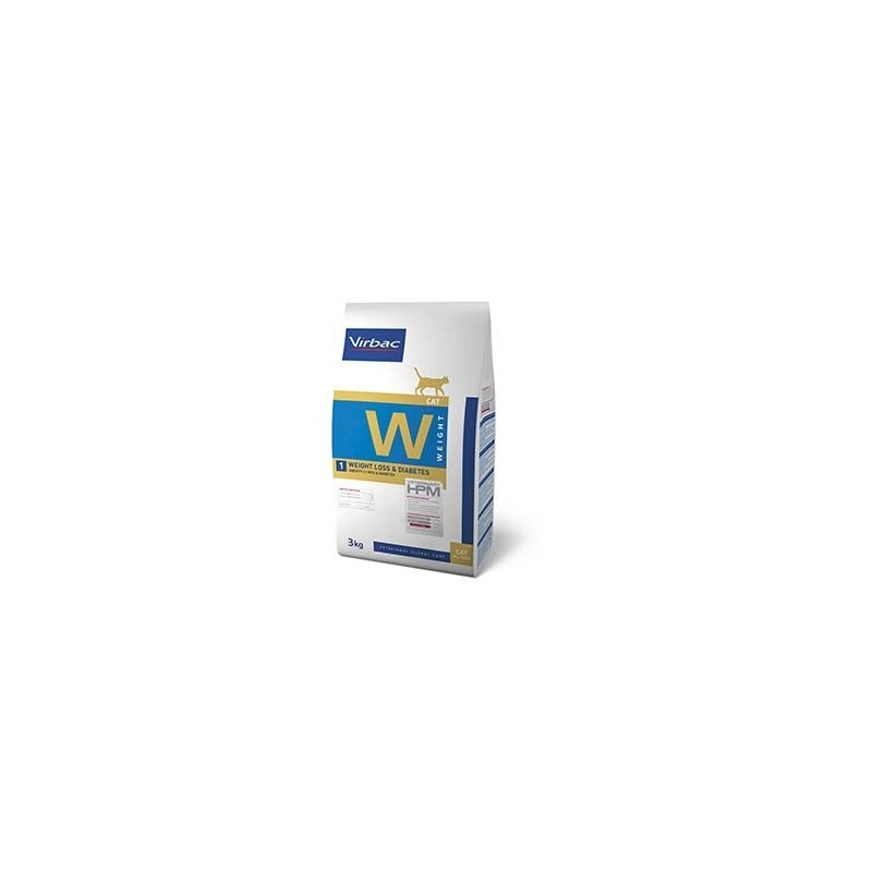HPM GATO W1 WEIGHT LOSS & DIABETES VIRBAC 3kg