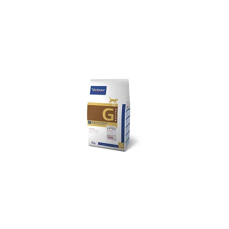 HPM GATO G1 DIGESTIVE SUPPORT VIRBAC 3kg
