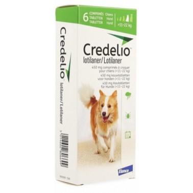 CREDELIO 450 mg Ectoparasiticida 3 Comprimidos para Perros