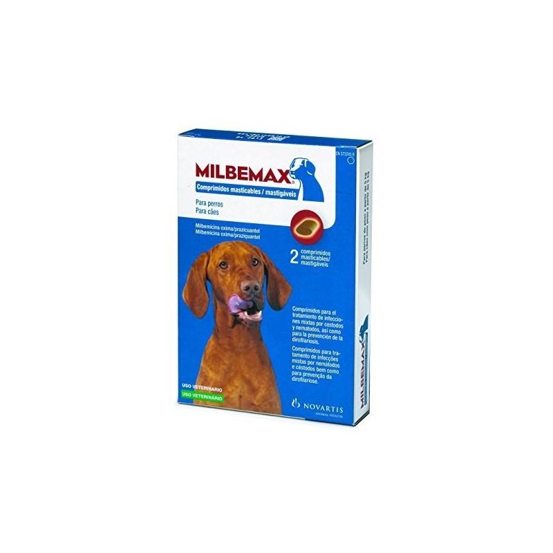 Milbemax Masticable 12,5 (5-75 kg)