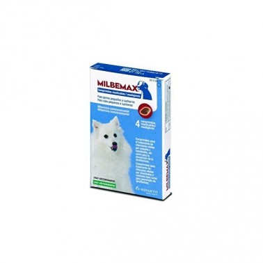 Milbemax Masticable 2,5 (0,5-10 kg)