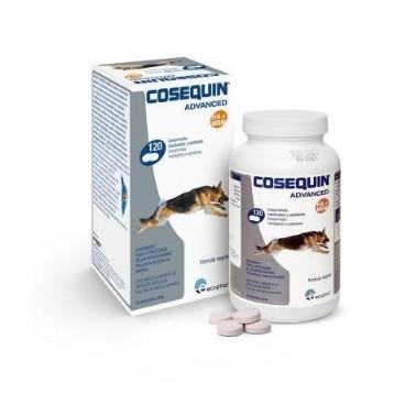 COSEQUIN ADVACED MSM HA  PERROS ECUPHAR  120 comprimidos