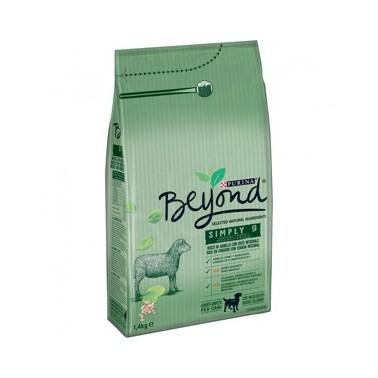 PURINA BEYOND SIMPLY 9 PERRO ADULTO RICO EN CORDERO Y CON CEBADA INTEGRAL 14kg