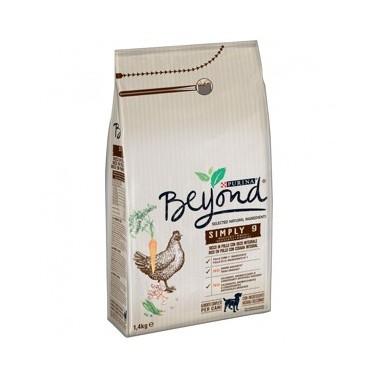 BEYOND SIMPLY 9 PERRO ADULTO RICO EN CORDERO Y CON CEBADA INTEGRAL 3kg