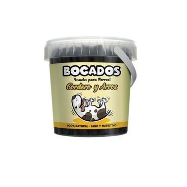 BOCADOS CORDERO Y ARROZ 300gr