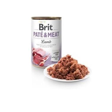 BRIT PATÉ & MEAT PERRO ADULTO CON CORDERO DE 400g