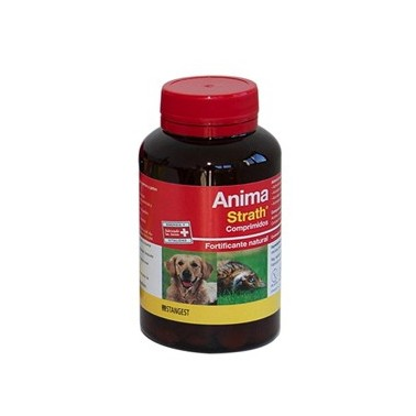 ANIMA-STRATH COMPRIMIDOS Fortificante 100% natural para perros y gatos.