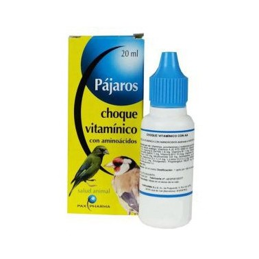 CHOQUE VITAMINICO AMINOACIDOS 20ml