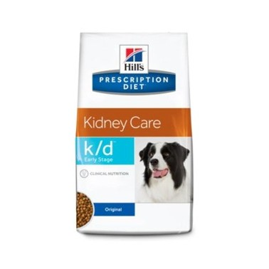HILL'S PRESCRIPTION DIET PERRO ADULTO K/D KIDNEY CARE EARLY STAGE CON POLLO 12kg