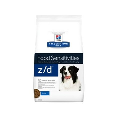 HILL'S PRESCRIPTION DIET PERRO ADULTO Z/D FOOD SENSITIVITIES 10kg