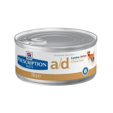 HILL'S PRESCRIPTION DIET PERRO Y GATO ADULTO A/D RESTORATIVE CARE CON POLLO UNIDAD DE 156g