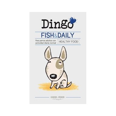 DINGO DAILY FISH 15kg