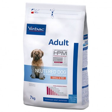 VETERINARY HPM DOG ADULT NEUTERED SMALL TOY 7kg