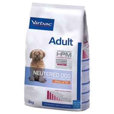 VETERINARY HPM DOG ADULT NEUTERED SMALL TOY 3kg