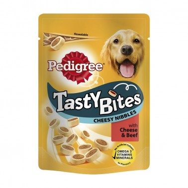 Tasty Cheese Bites 140 g Pedigree