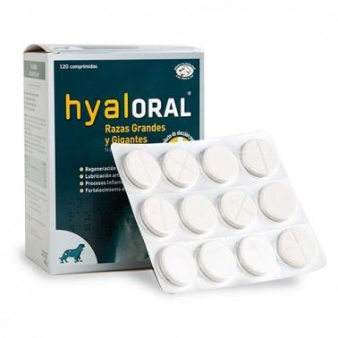 Hyaloral Condroprotector Para Razas Grandes y Gigantes 120 comprimidos